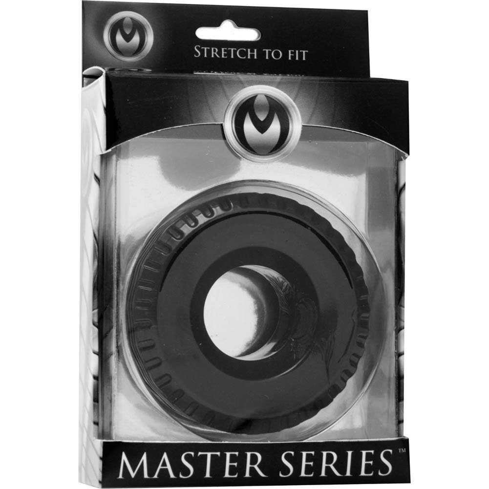 Master Series Tread Ultimate Tire Cock Ring Black - View #4