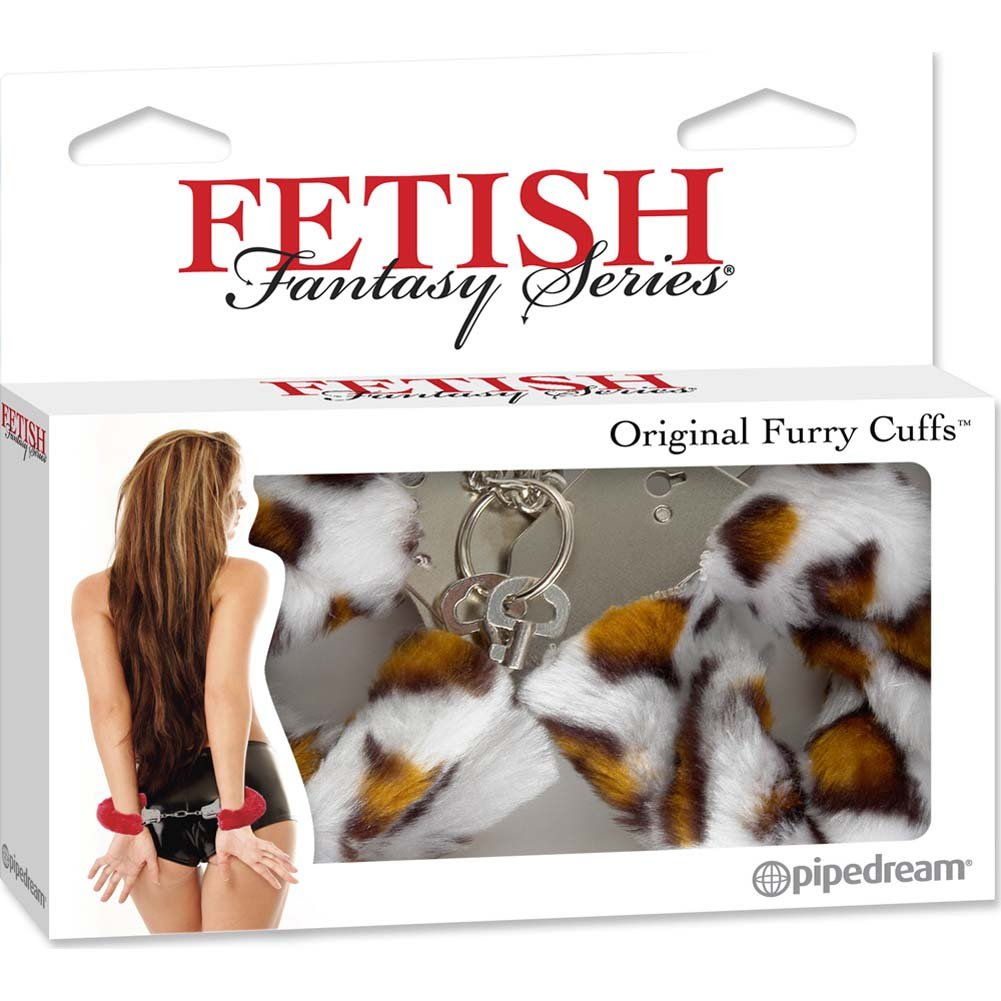 Fetish Fantasy Series Original Furry Cuffs Leopard - View #4