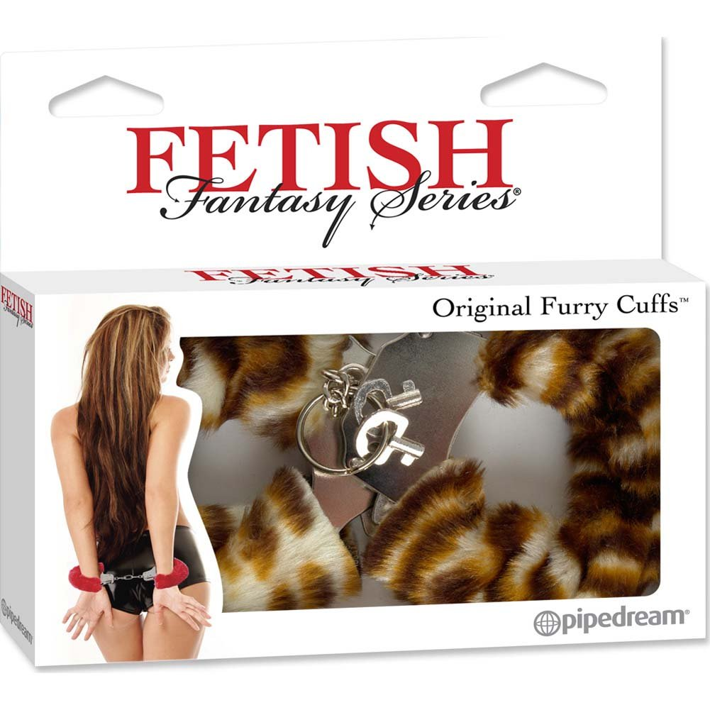 Fetish Fantasy Series Original Furry Cuffs Tiger - View #4