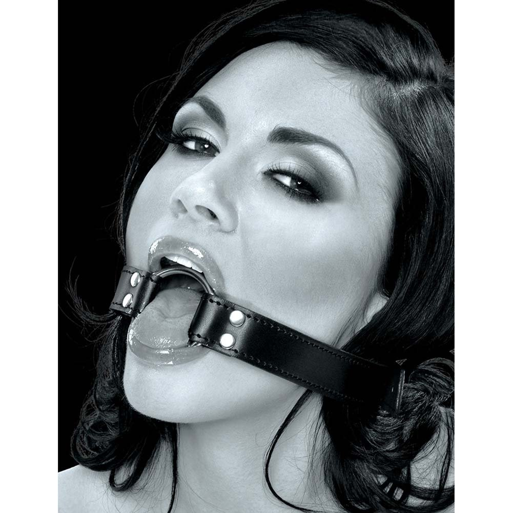 Fetish Fantasy Limited Edition O-Ring Gag Black - View #3