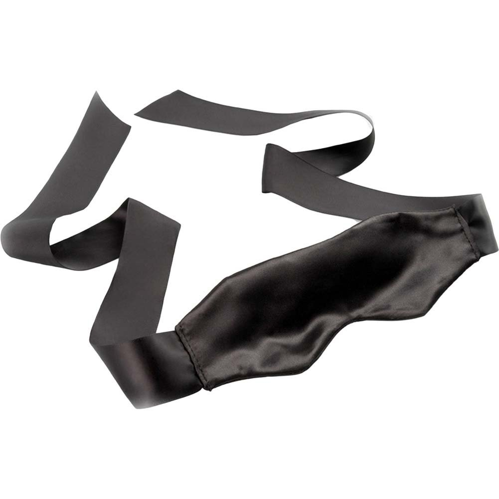 Fetish Fantasy Limited Edition Satin Blindfold Black - View #1
