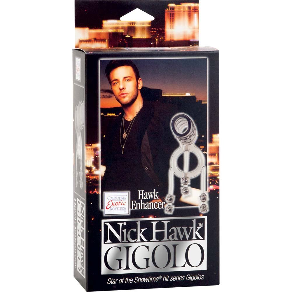 Nick Hawk Gigolo Hawk Enhancer Cock Ring Smoke - View #1