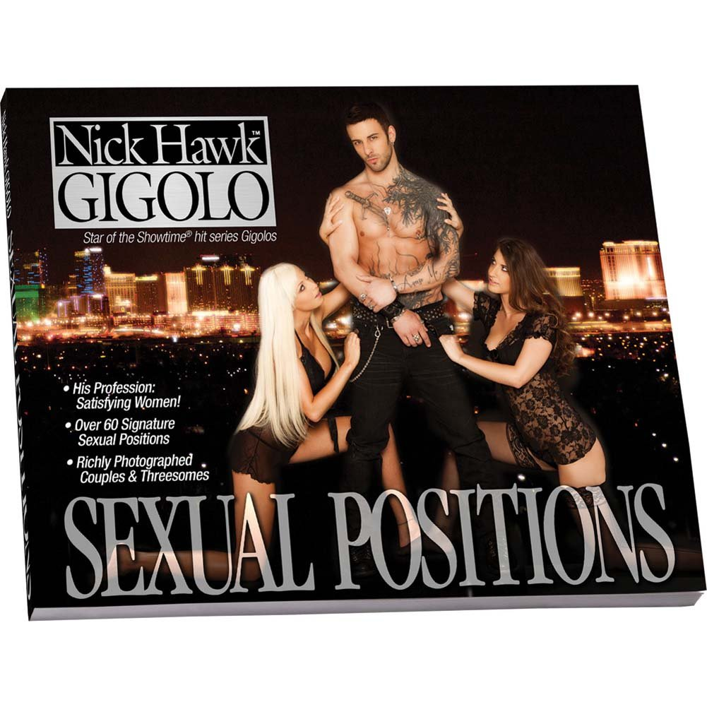 Nick Hawk Gigolo Sexual Positions Book - View #1