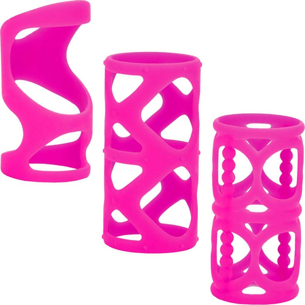 "Posh Silicone LoverS Cage 3"" Pink - View #2"