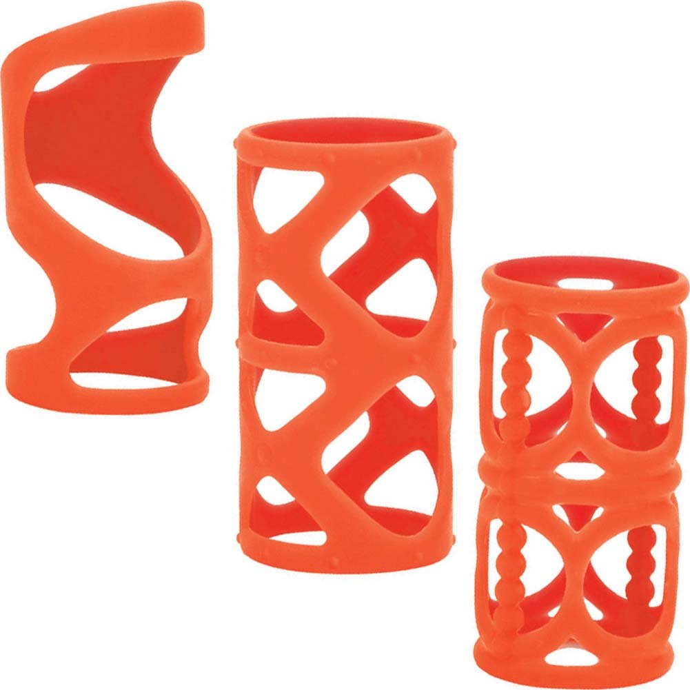 "Posh Silicone LoverS Cage 3"" Orange - View #2"