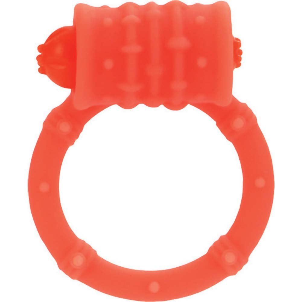 Posh Silicone Vibro Ring Orange - View #2