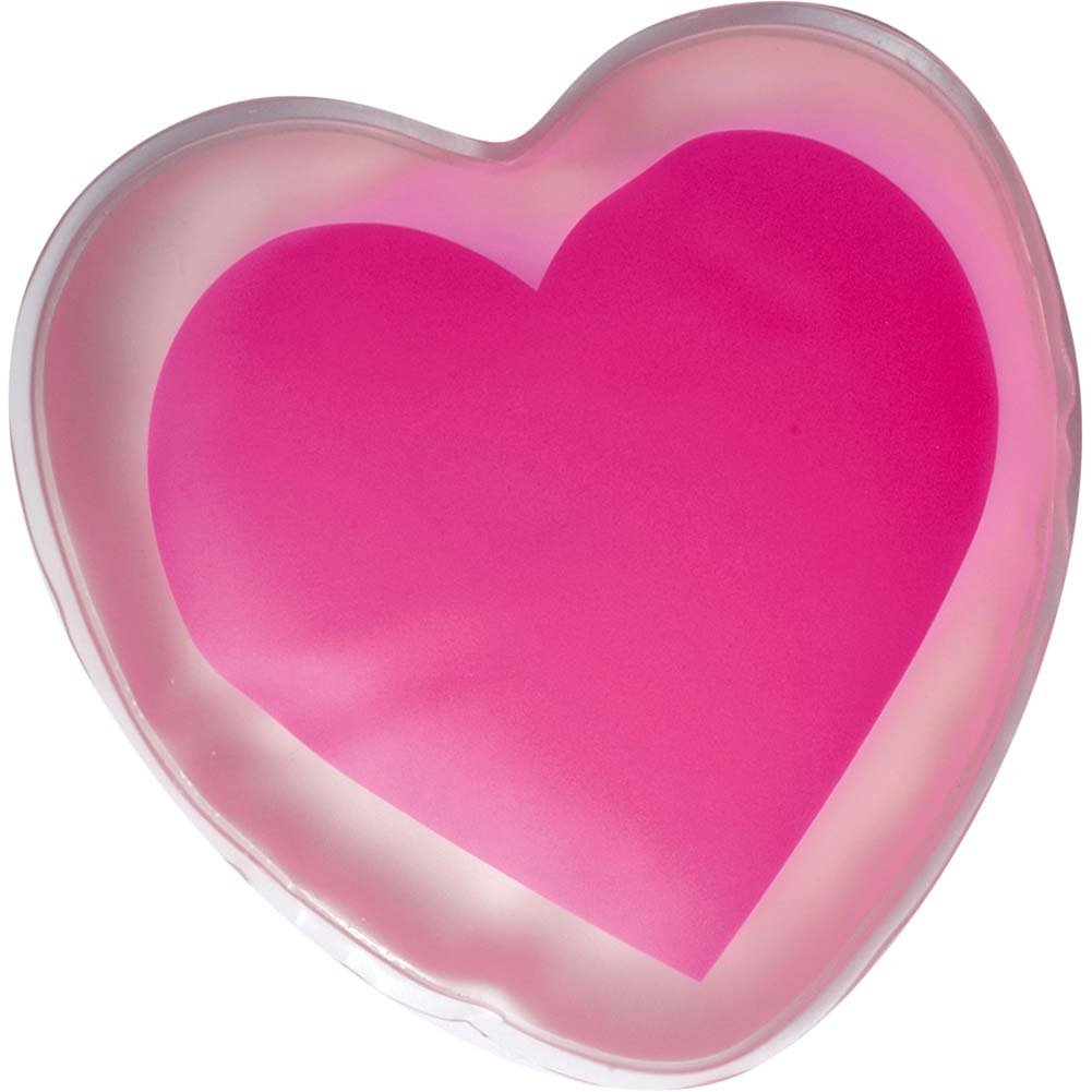 Crazy Girl Warming Body Massager Pink Heart - View #2