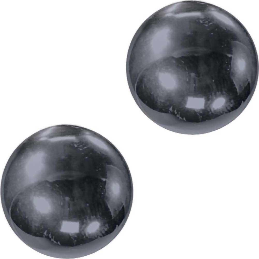 """Nen-Wa Balls Mini Magnetic Hemitite Balls 1"""" Graphite - View #2"""