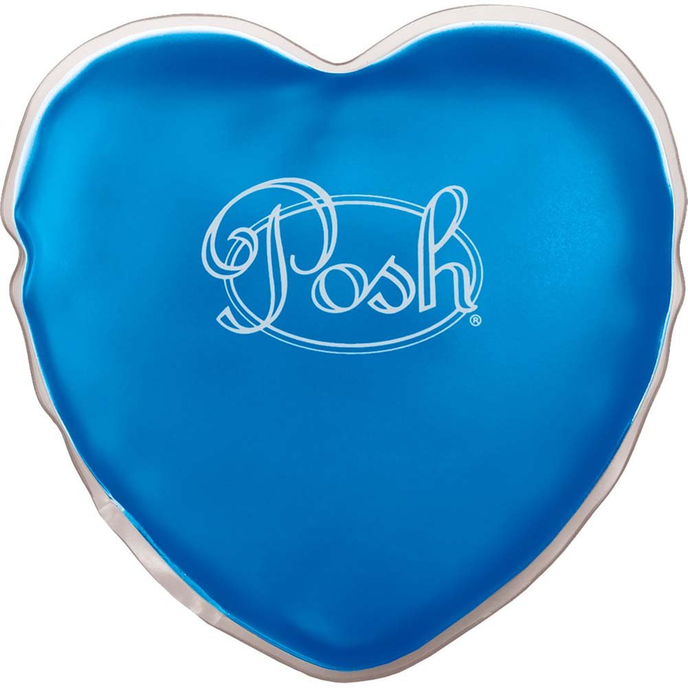 "Posh Warm Heart Massager 5"" Blue - View #1"