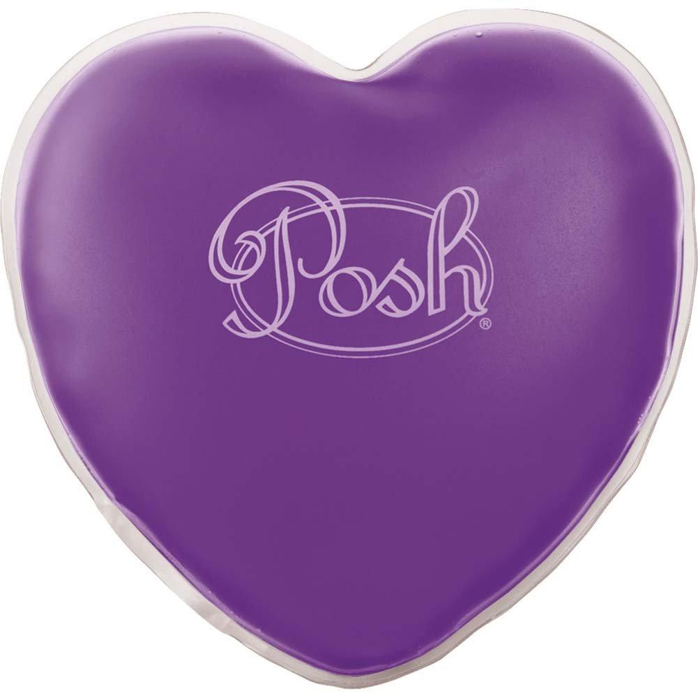 "Posh Warm Heart Massager 5"" Purple - View #1"