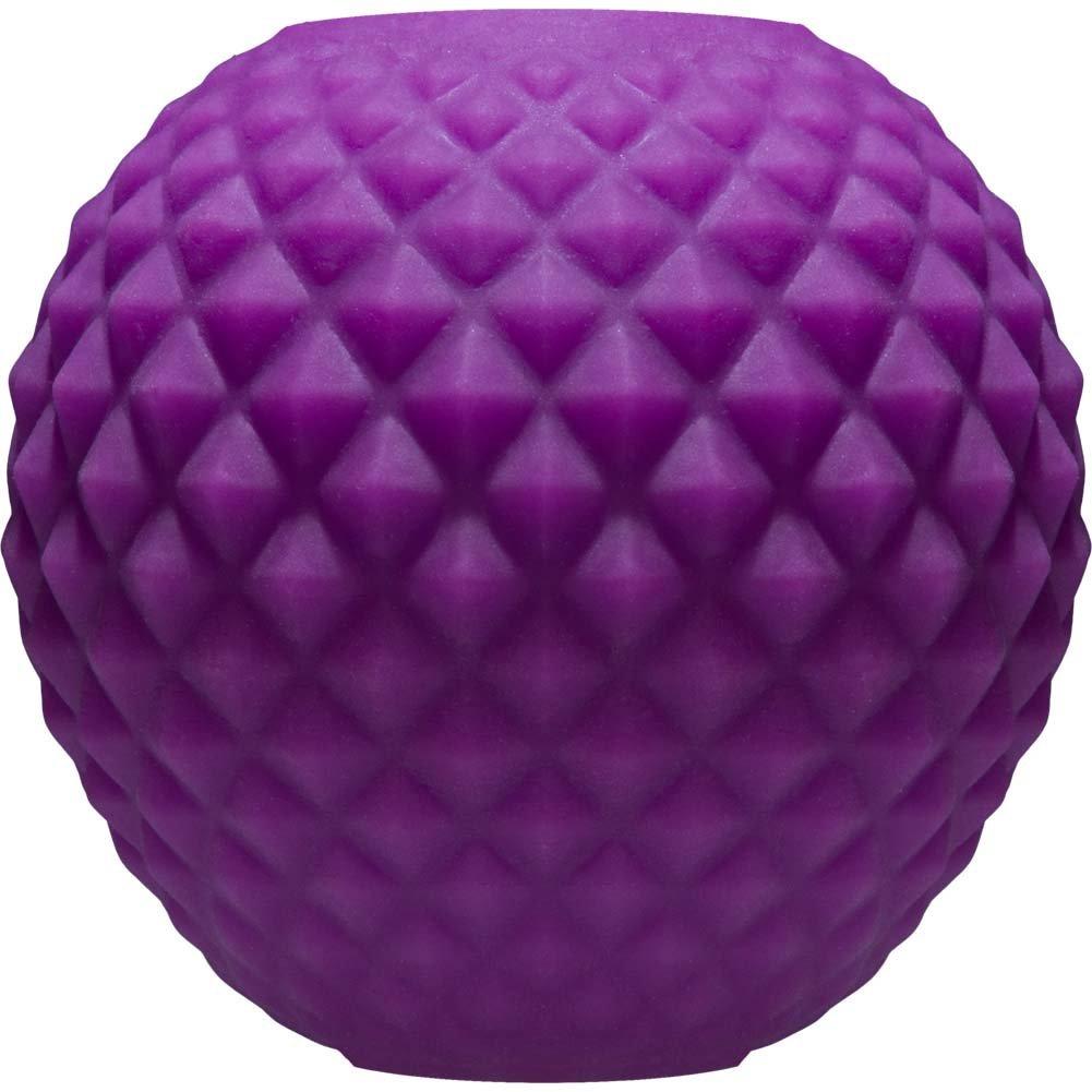 "Mood Powerball Thick Ribs - UR3 Masturbator 3"" Purple - View #2"