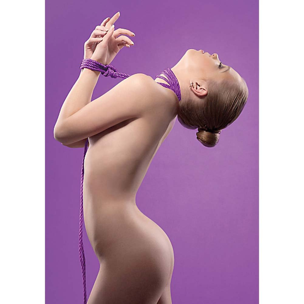 Ouch Kinbaku Rope 10 Meter Purple - View #1
