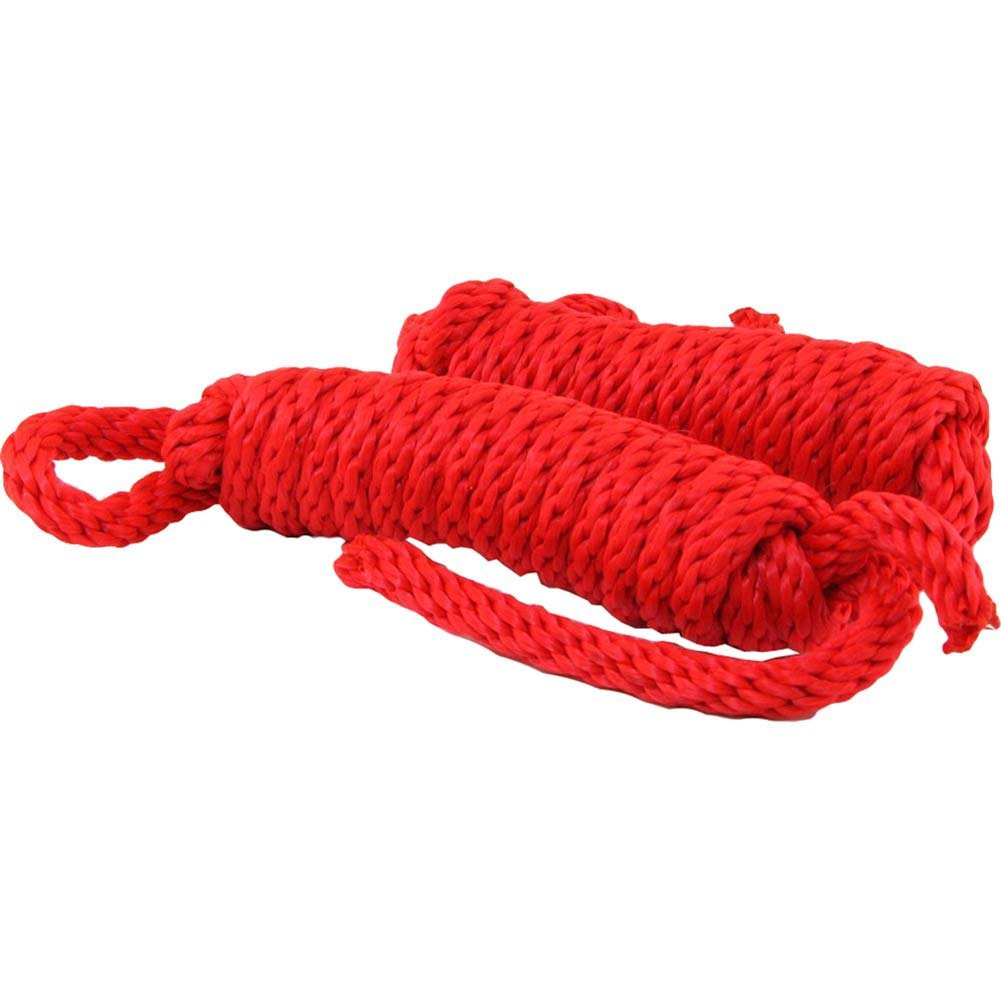 Sex and Mischief SM Silky Rope Kit Red - View #2