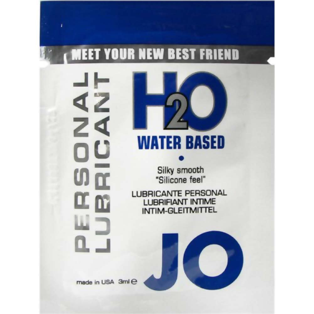 JO H2O Water Based Personal Lubricant Sample - View #1