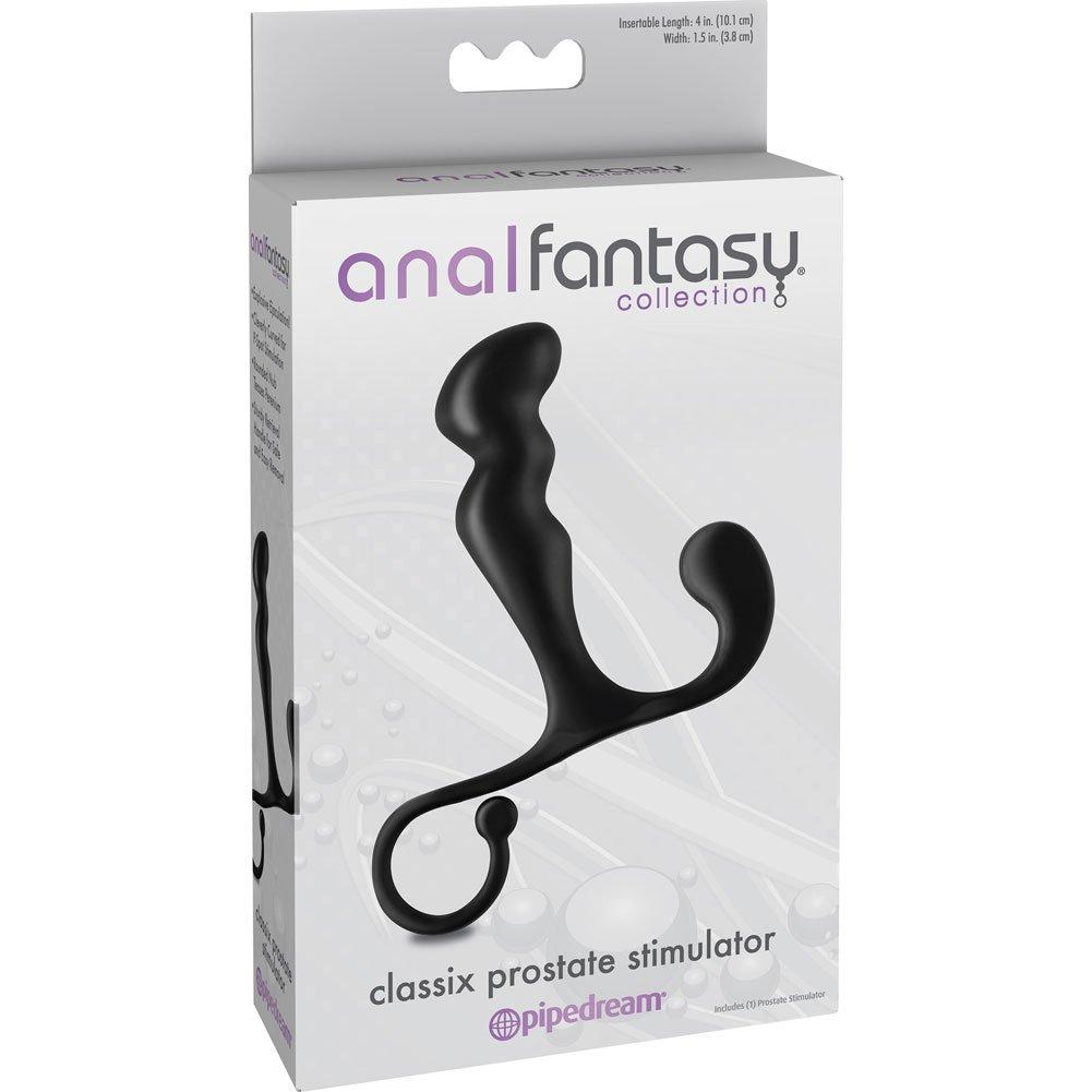"Anal Fantasy Collection Classix Prostate Stimulator 6"" Black - View #1"