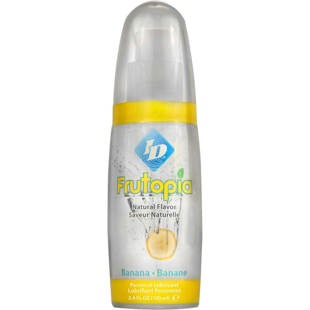 ID Frutopia Naturally Flavored Personal Lubricant 3.4 Fl.Oz 100 mL Banana - View #1