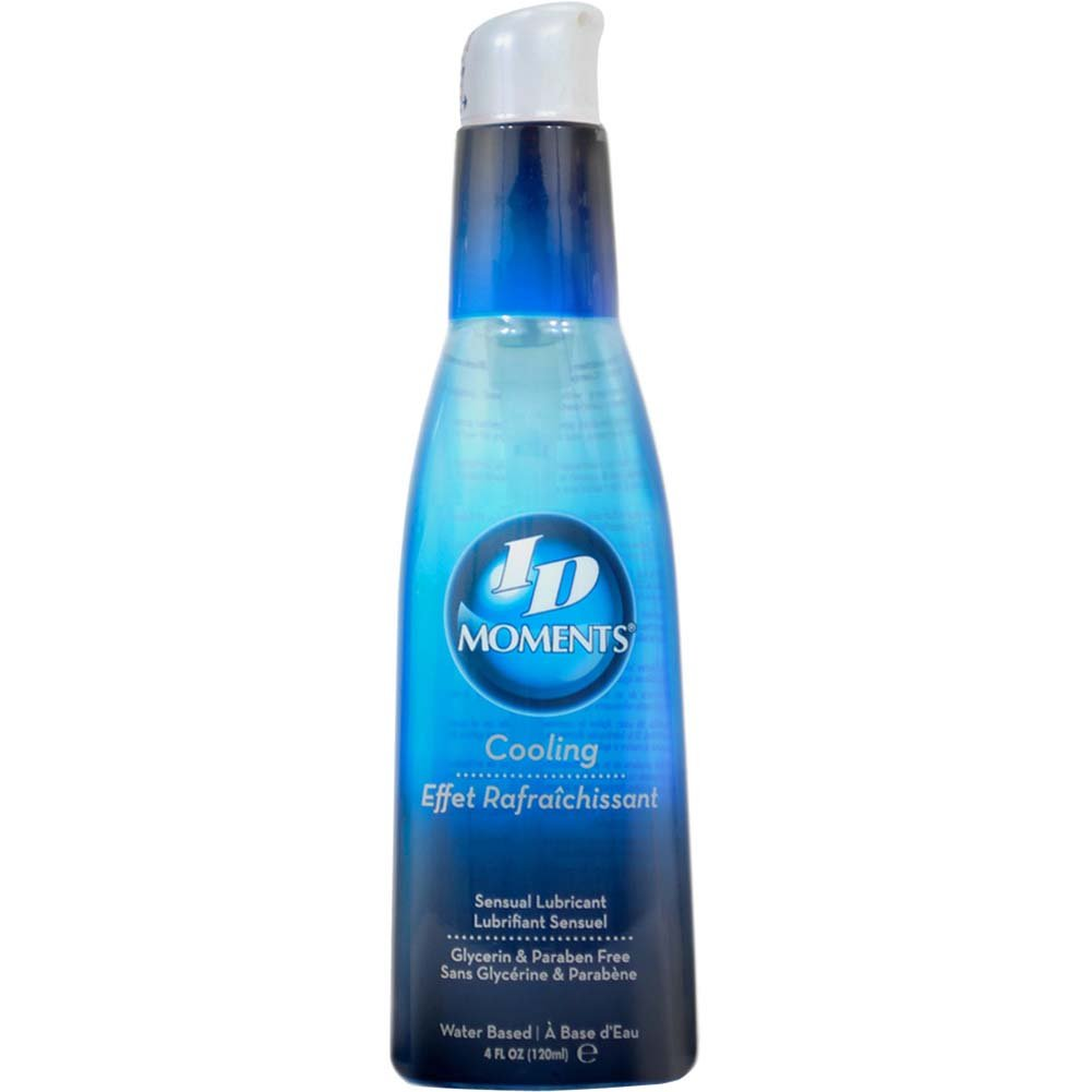 ID Moments Cooling Lubricant 4 Fl.Oz. Pump Bottle - View #1