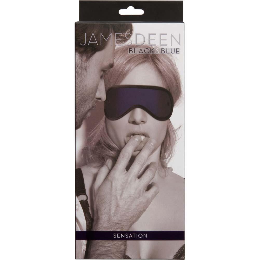 James Deen Black and Blue Sensation Eye Mask Blindfold - View #1
