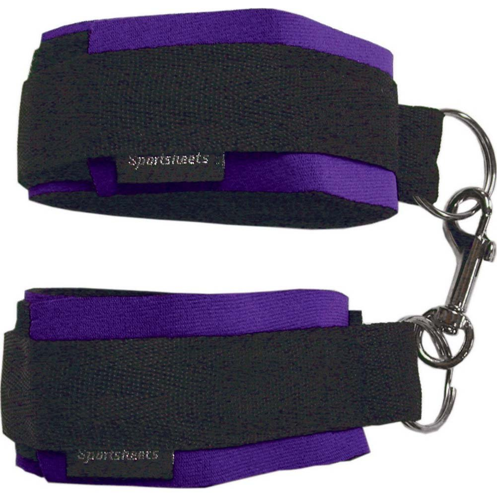 Sex and Mischief SM Beginners Handcuffs Purple - View #2