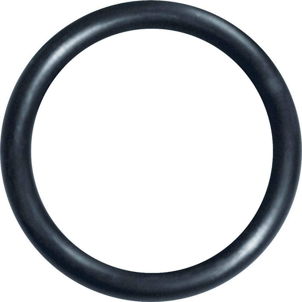 "Sex and Mischief SM Silicone Ring 1.75"" Black - View #2"