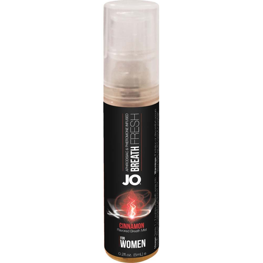 JO for Women Breath Fresh Mist with Pheromone 0.2 Fl.Oz 5 mL Cinnamon - View #2