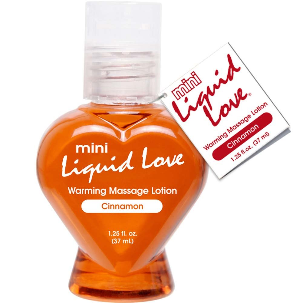 Mini Liquid Love Warming Massage Lotion 1.25 Fl.Oz 37 mL Cinnamon - View #1