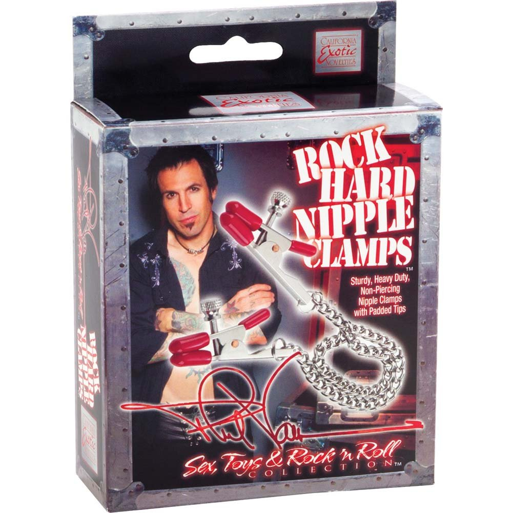 Phil Varone Rock Hard Nipple Clamps Red - View #4