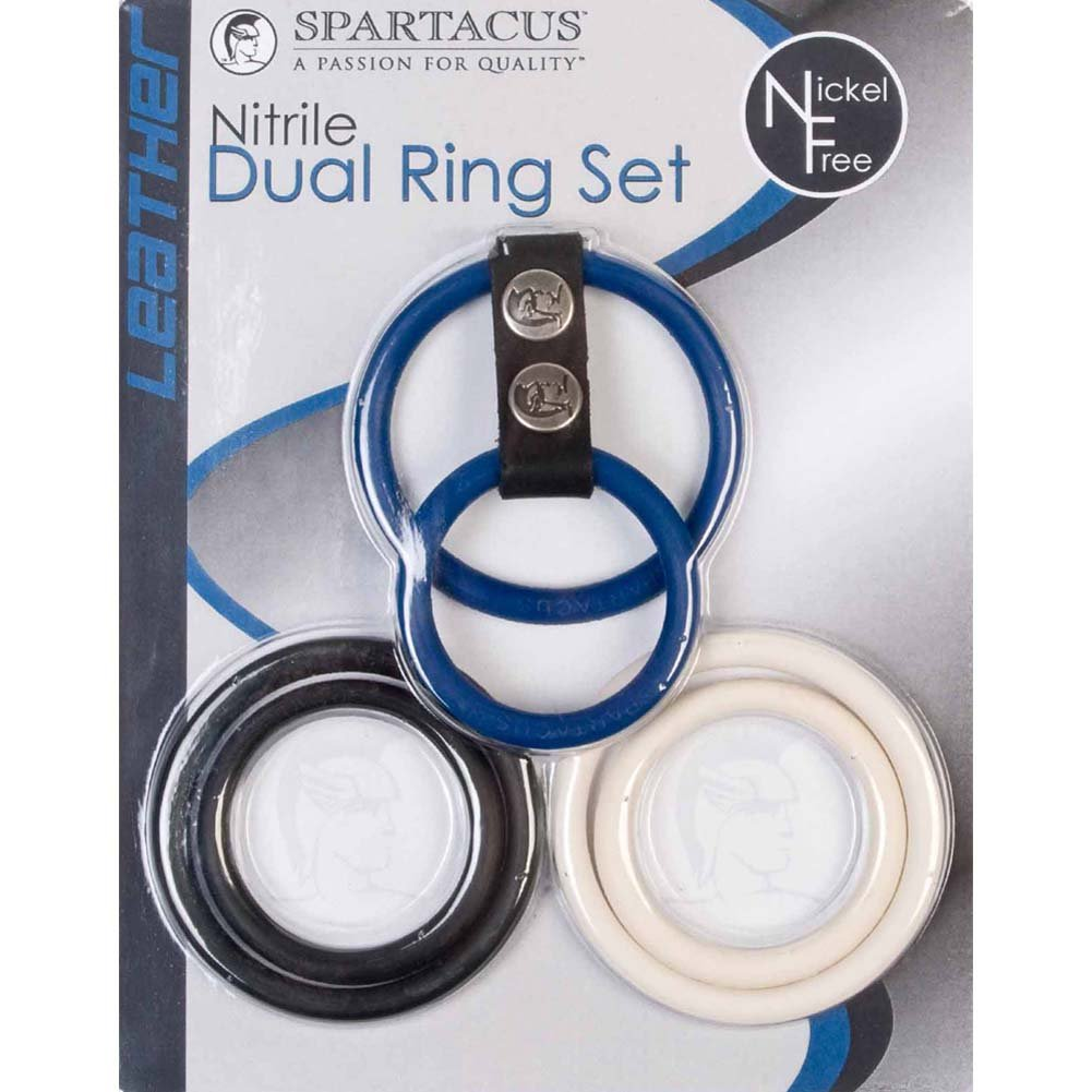 Spartacus Nitrile Nickel Free Dual Ring Set - View #1