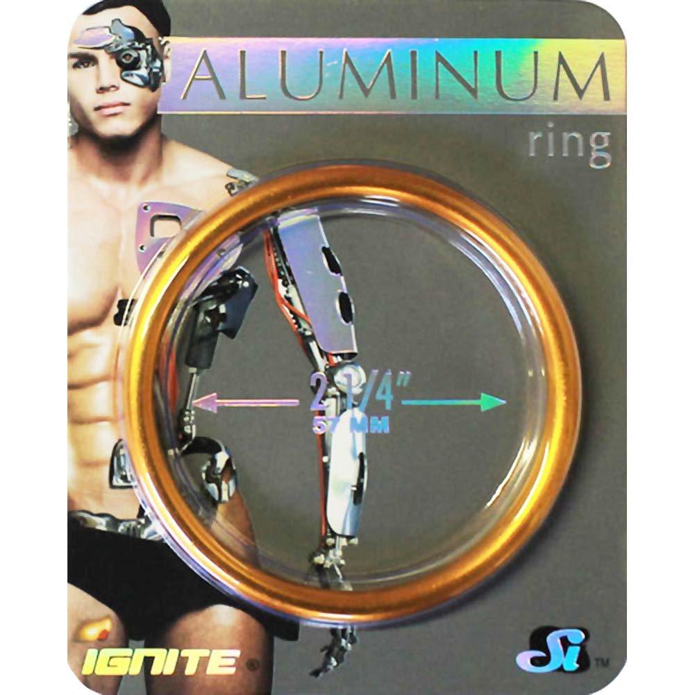 "Ignite Anodized Aluminum Cock Ring 2.25"" Copper - View #1"