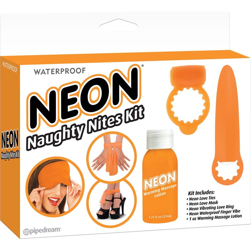 Neon Luv Touch Neon Naughty Nites Kit Orange - View #1