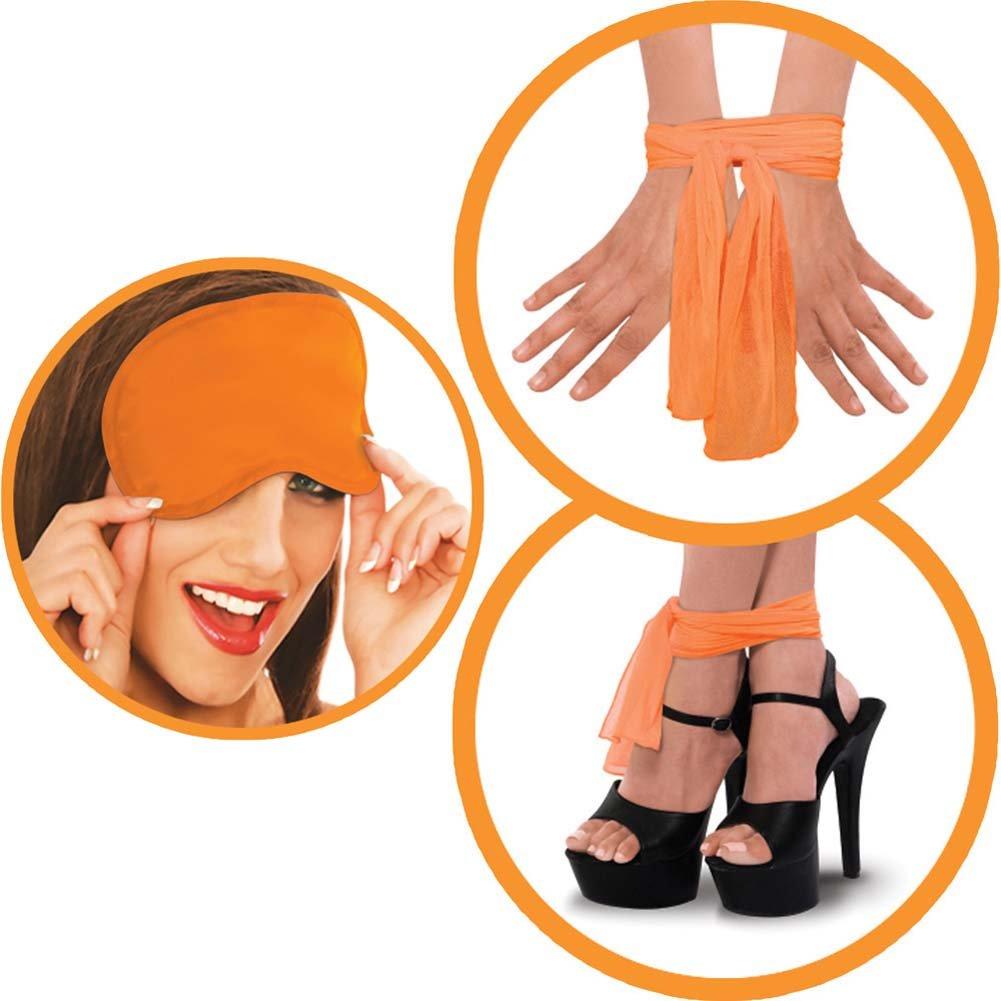 Neon Luv Touch Neon Naughty Nites Kit Orange - View #3