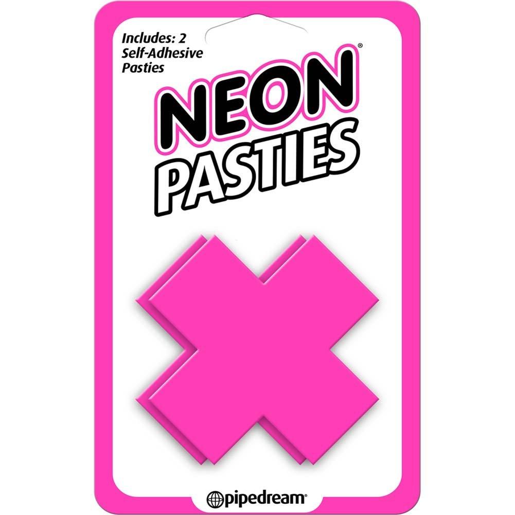 Neon Pasties Pink - View #2