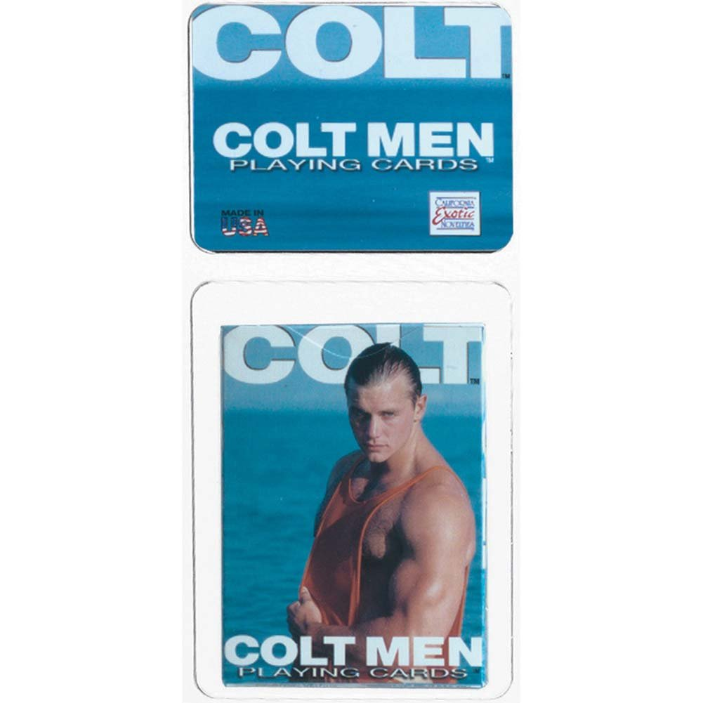 California Exotics COLT MEN Playing Cards - View #1