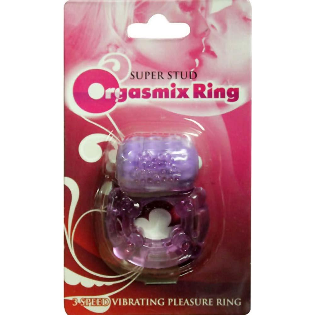 Super Stud Orgasmix Vibro Ring Purple - View #1