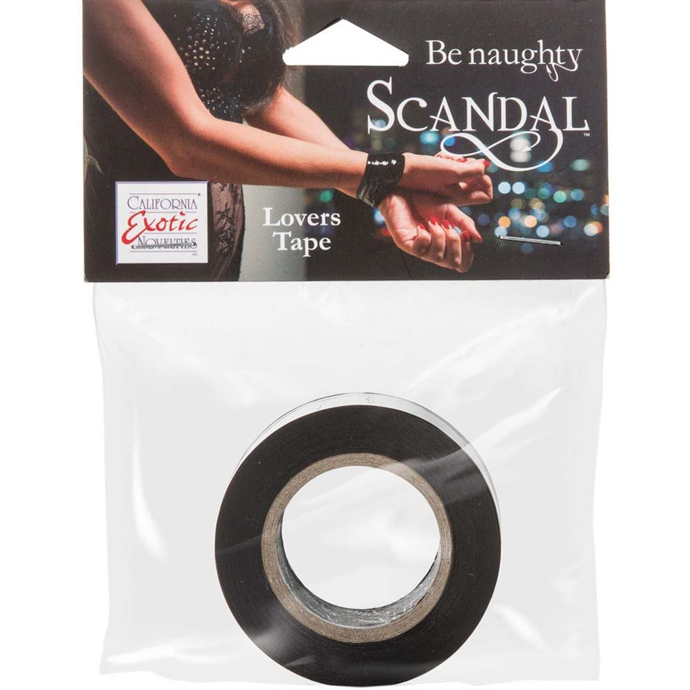 CalExotics Scandal Lovers Tape Black - View #1