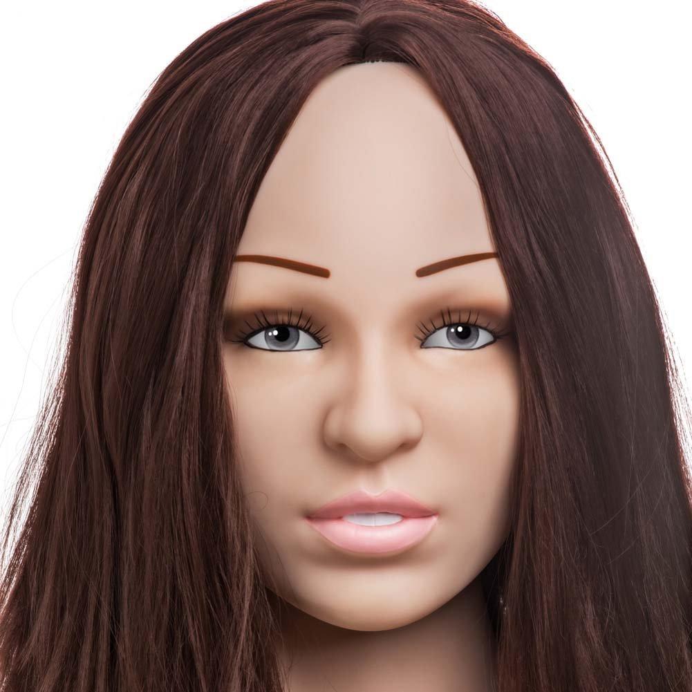 Vivid Raw Doggy Style Diva Yurizan Bel Vibrating Love Doll for Men - View #3