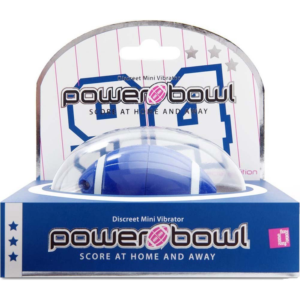 FunZone Footnball Power Bowl Bullet Keychain Dark Blue - View #1
