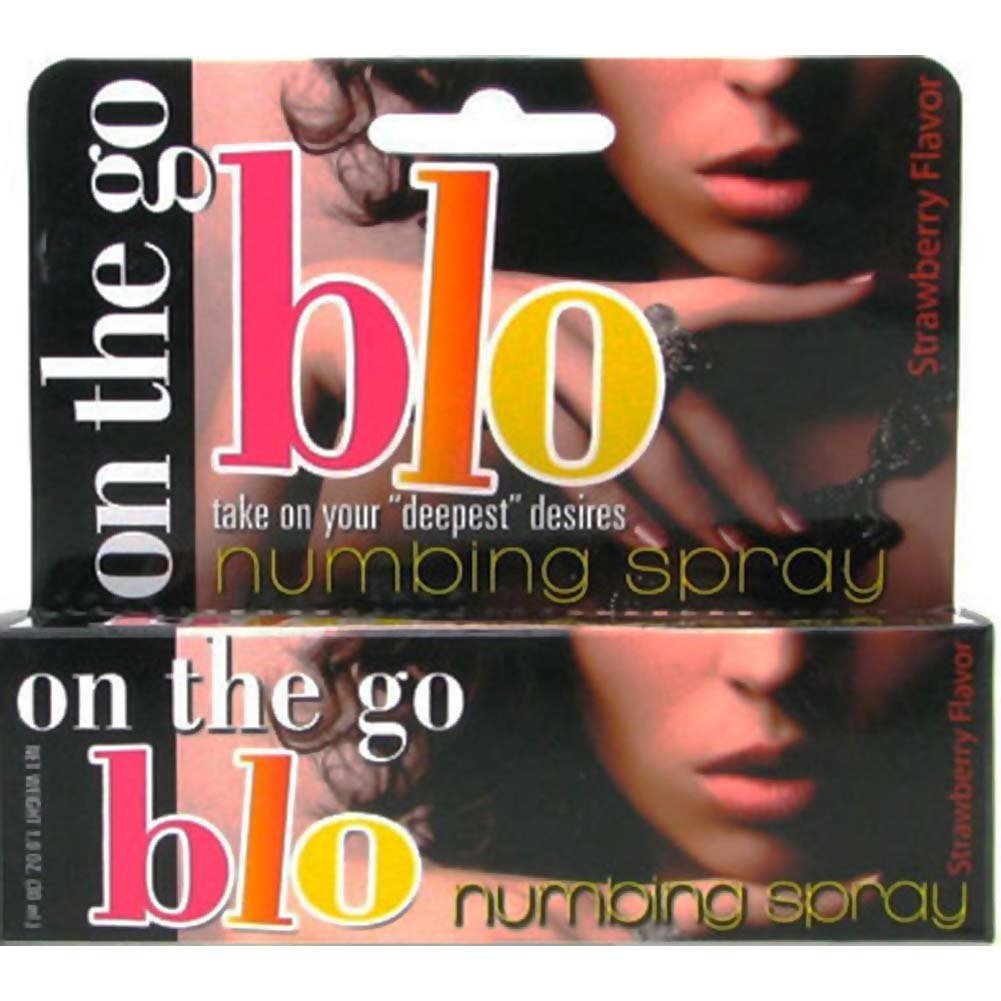 On the Go BLO Numbing Spray 1 Fl. Oz Strawberry - View #1