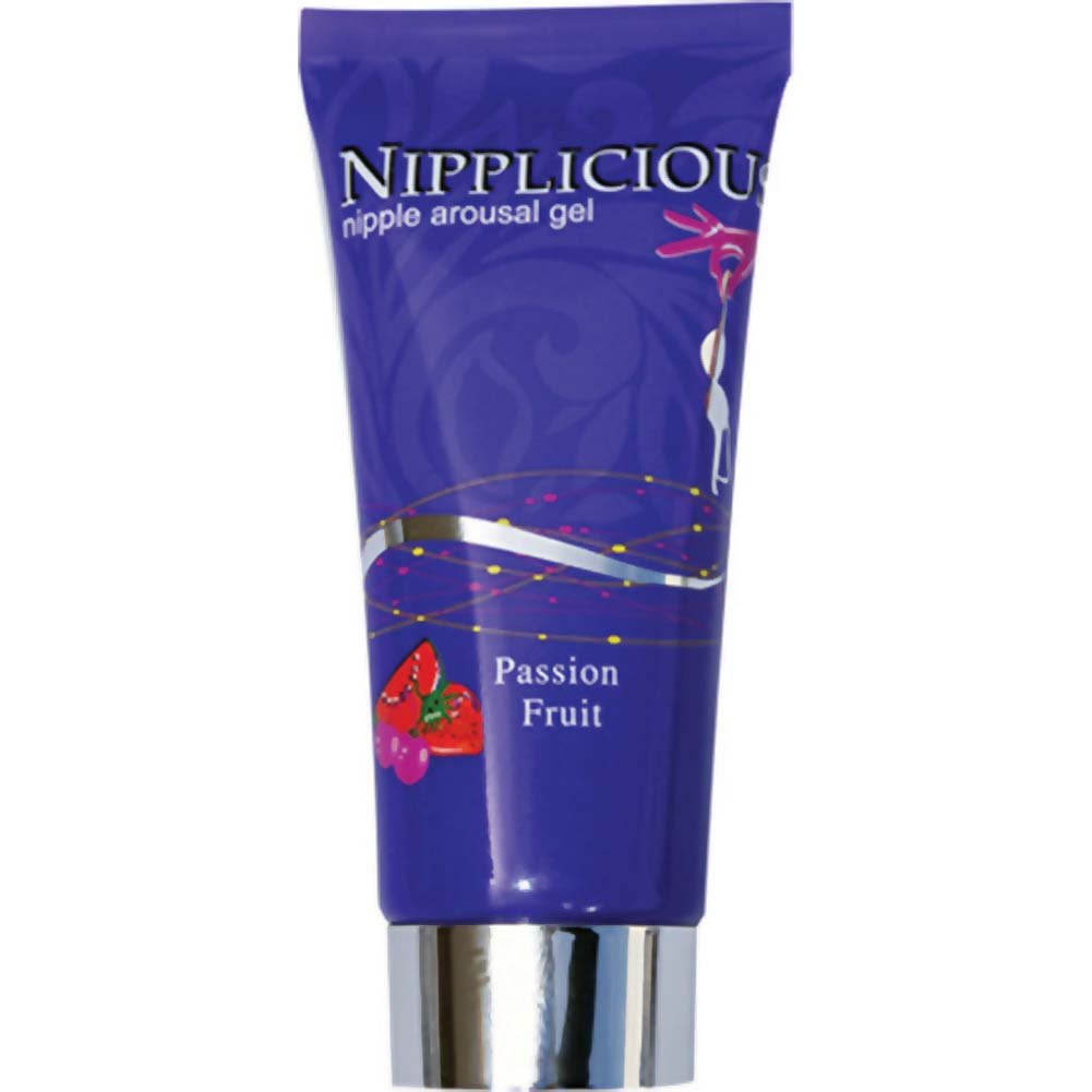 Nipplicious Nipple Arousal Gel 1 Fl. Oz Passion Fruit - View #2