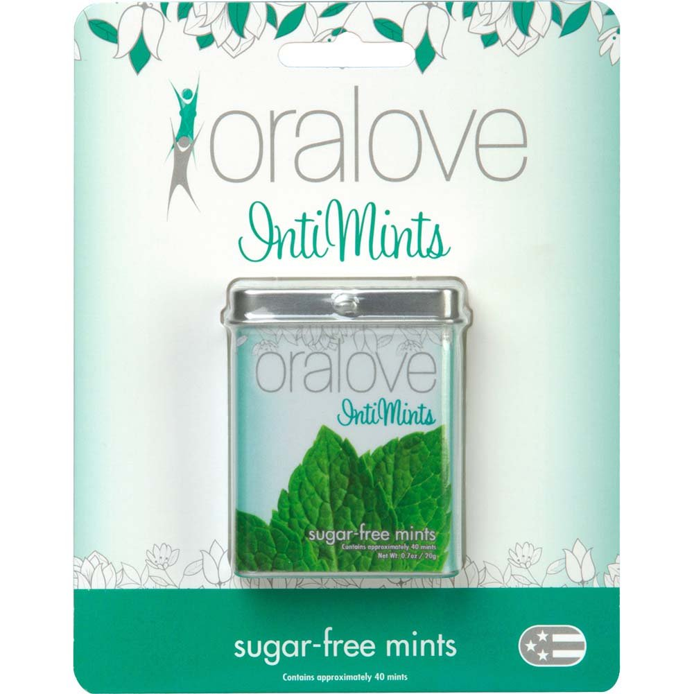 Oralove IntiMints - Sugar-Free Mints - View #1