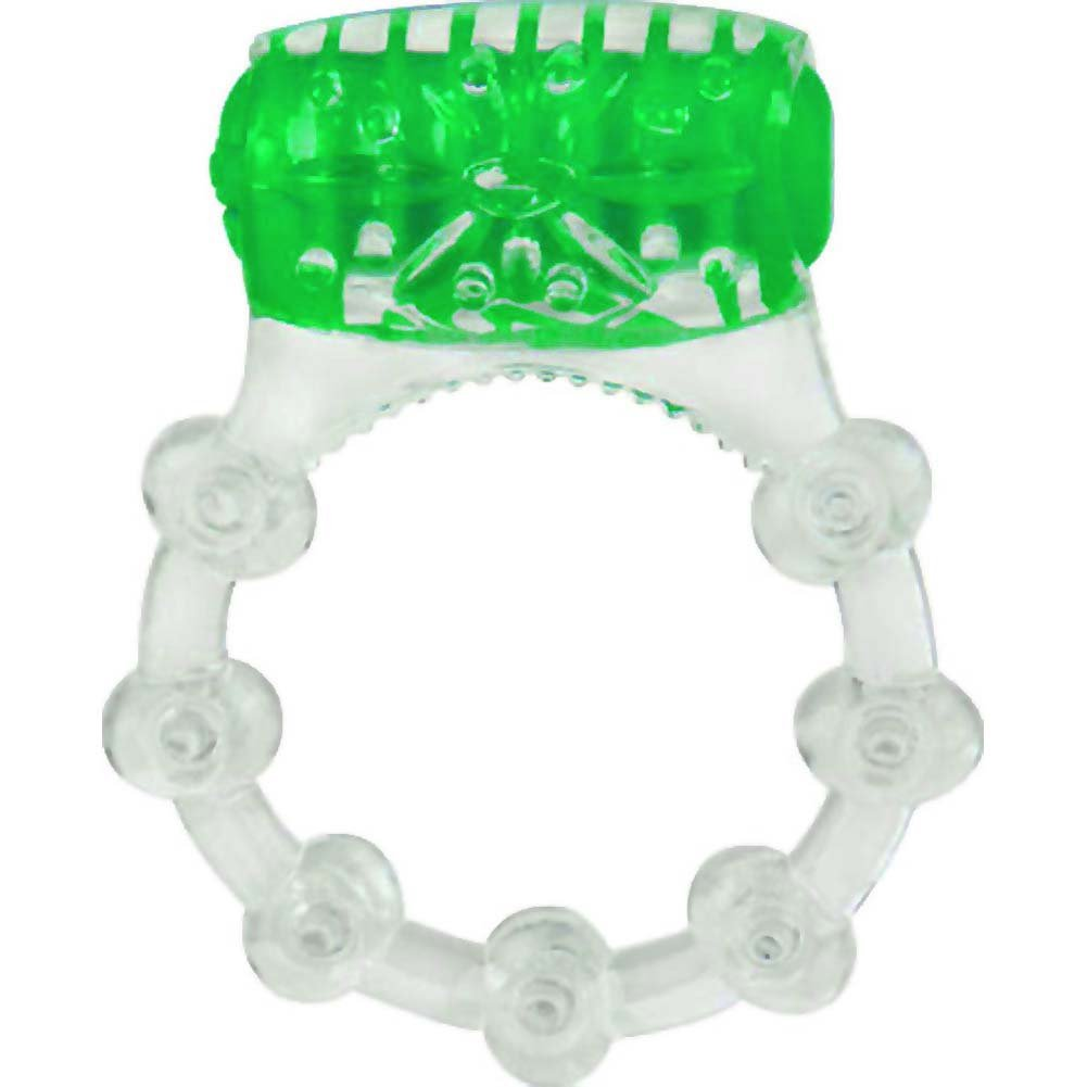 Screaming O ColorPoP Quickie Vibrating Ring Green - View #2