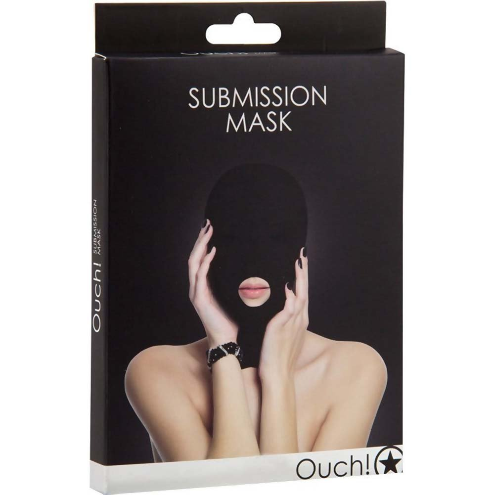 Ouch Submission Mask Black - View #1