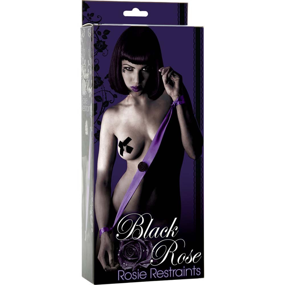 Black Rose Rosie Restraints Purple de Luxe - View #1