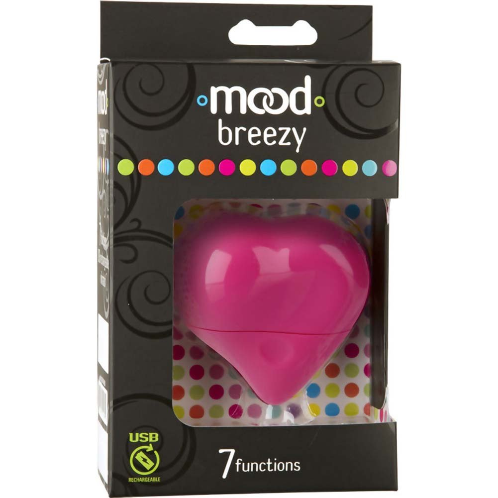 Mood Breezy USB Rechargeable Massager Pink - View #1