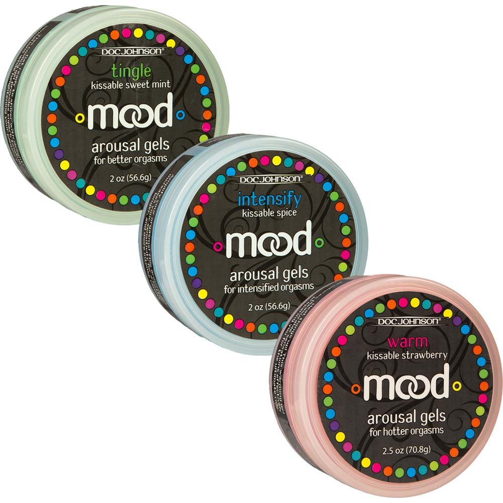 Mood Arousal Gels Pack of 3 Warm Tingle and Intensify 2 Oz. Each - View #3
