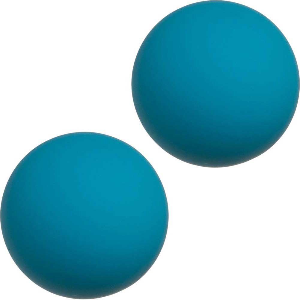 Mood Steamy Silicone Ben Wa Balls Blue - View #2
