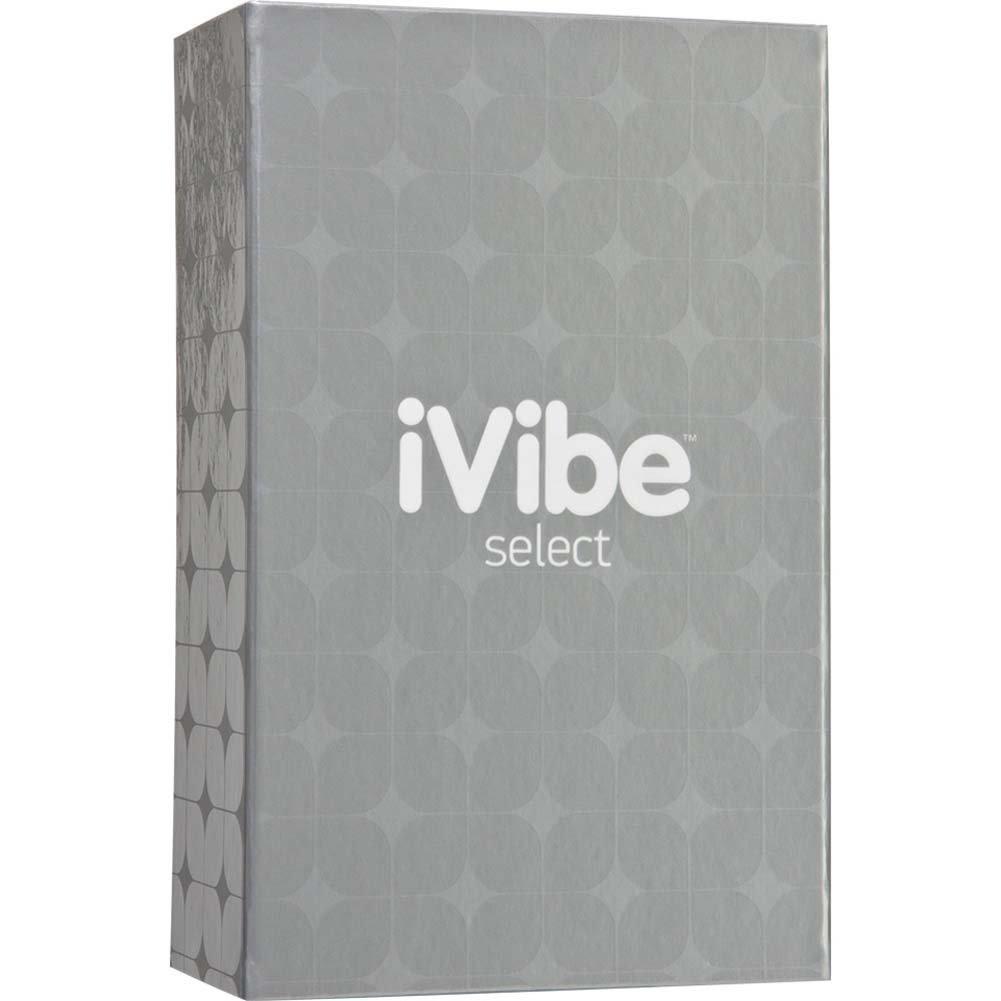 "iVibe Select iRabbit Premium Silicone Vibrator 10.25"" Black - View #3"