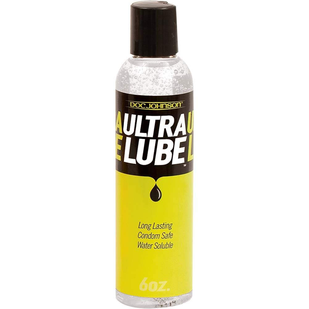 Doc Johnson Long Lasting Ultra Lube 6 Fl. Oz Unscented - View #1