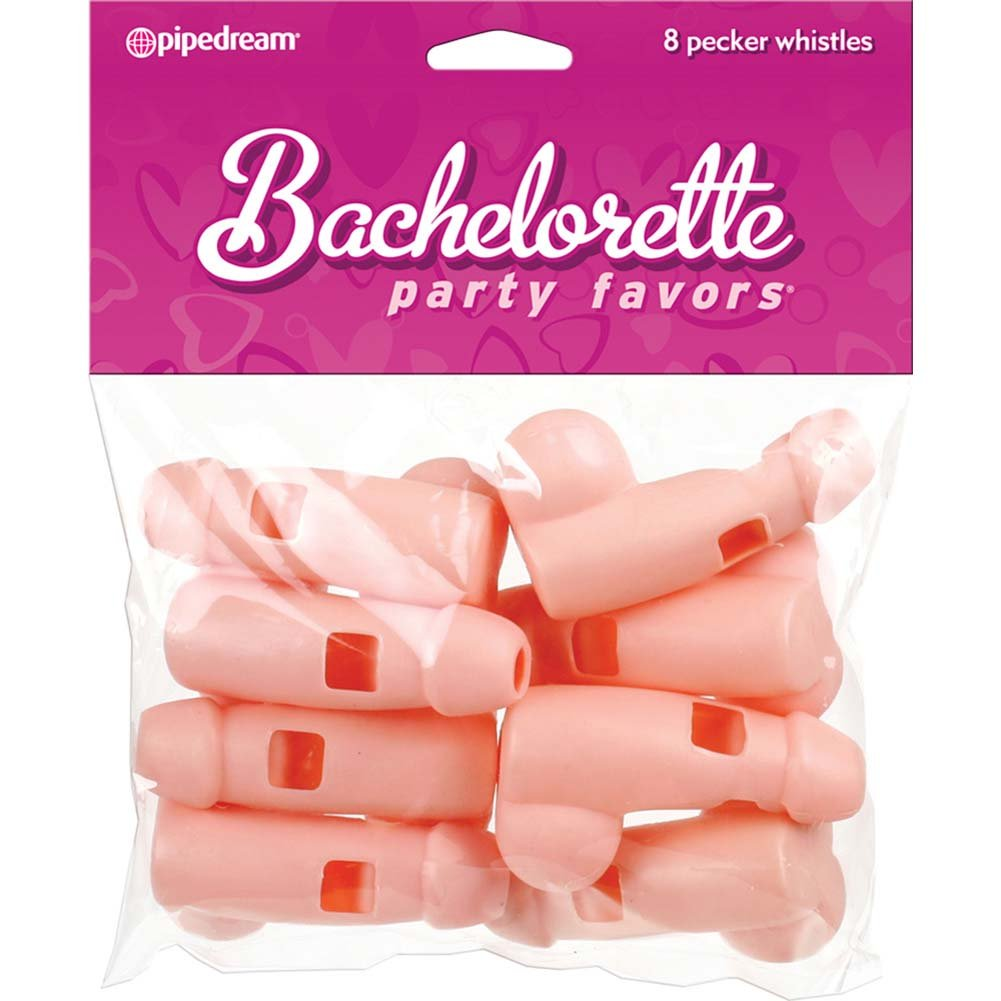 Bachelorette Party Favors Pecker Whistles 8 Pieces - View #3