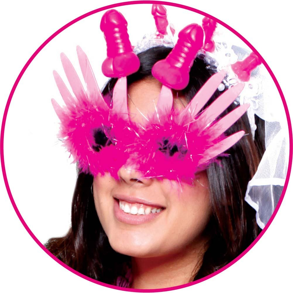 Pipedream Bachelorette Party Favors Gaga Glasses Pink - View #2
